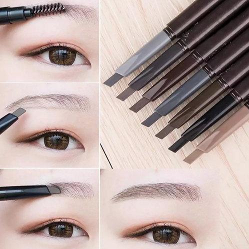 Waterproof eye pencil with brush