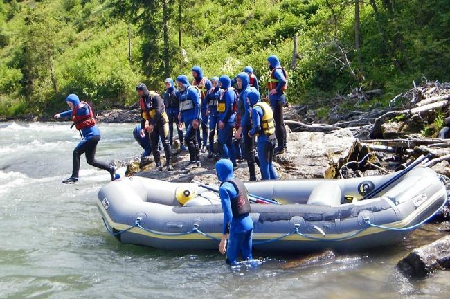 Rafting Firn Sepp-klein