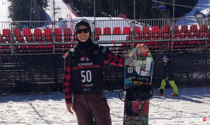 Миасский сноубордист возвращается с прошедшего в Чехии Первенства Мира