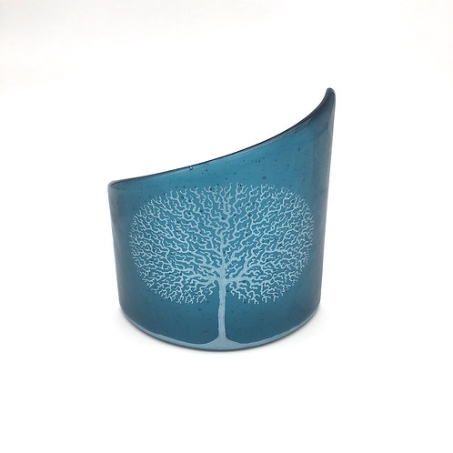 Tree of Life Small Curve (Steel Blue)