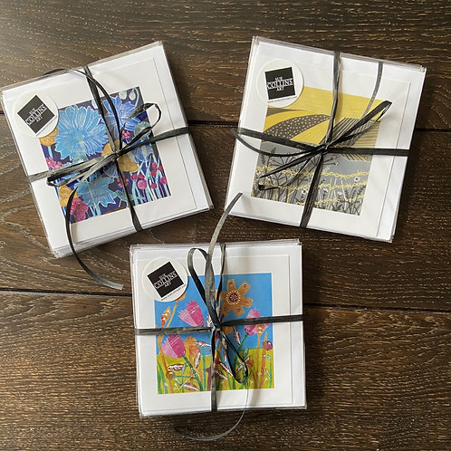 Greetings Cards (Mixed packs of 5) by Sue Collins
