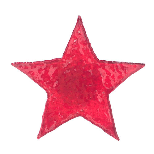 Giant Brandy Snap Star (Red)
