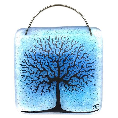 Mini Tree of Life Light Catcher (Blue)