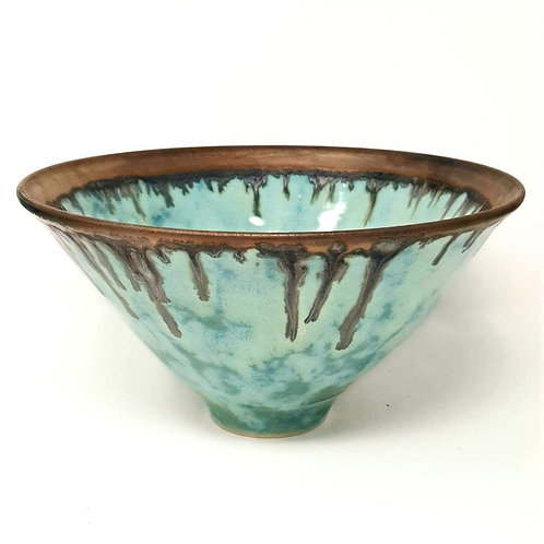 Summer Clouds Bowl by Jane Bridger