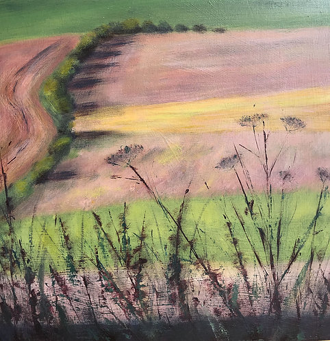 Downland Stripes by Janice Thurston