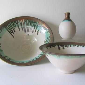 Raku stoneware