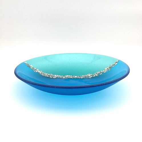 Pebble Trail Bowl (Turquoise & Aqua)