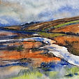 Lindsey Pearson Upstream Watercolour and