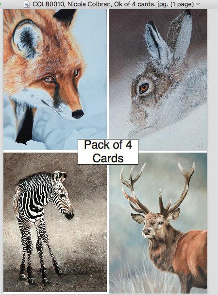 Greetings Cards (Pack 2) by Nicola Colbran