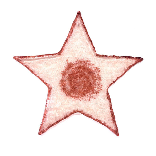 Giant Brandy Snap Star (Coral)