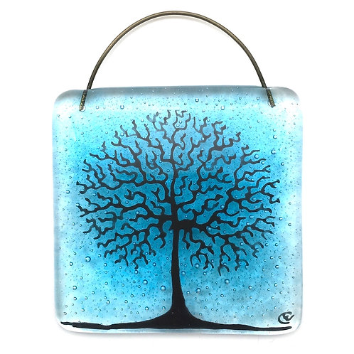 Mini Tree of Life Light Catcher (Turquoise)