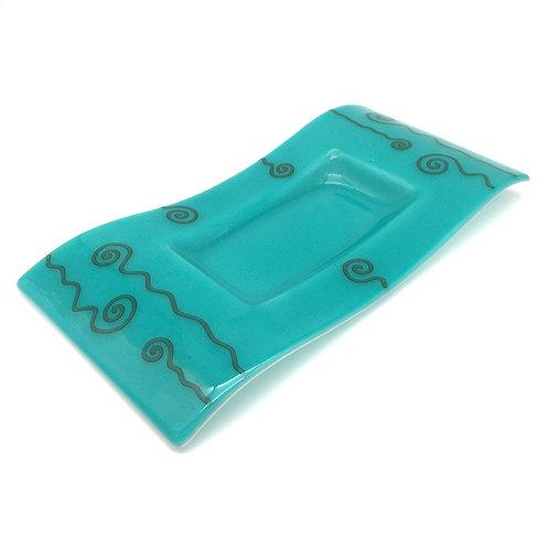 Deco Wave Platter