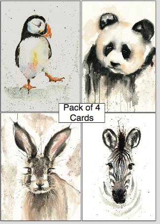 Greetings Cards (Pack 1) by Nicola Colbran