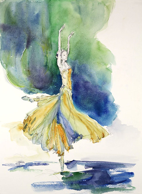 Ballet Dancer by Lindsey Pearson