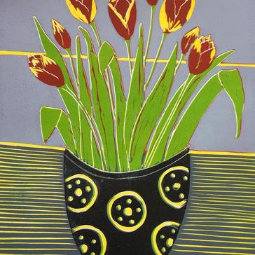 Potted Tulipa