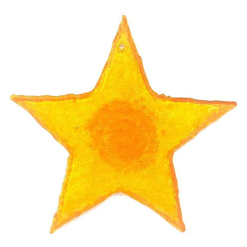 Giant Brandy Snap Star (Marigold)