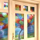 Rainbow Tree Door