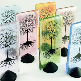 Mini Trees on button stands