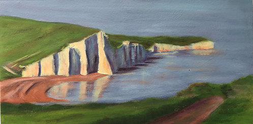 Evening at Cuckmere by Janice Thurston
