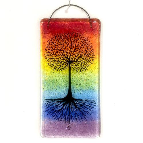 'Tree of Life' Hanging (Rainbow)