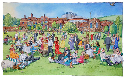 A Glyndebourne Picnic by Lyndsey Smith