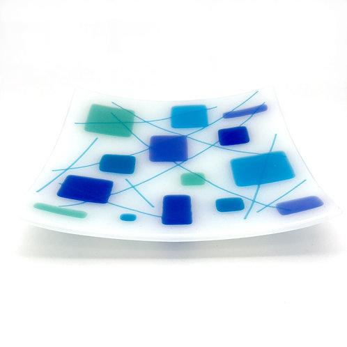 Retro Blues, Square Platter