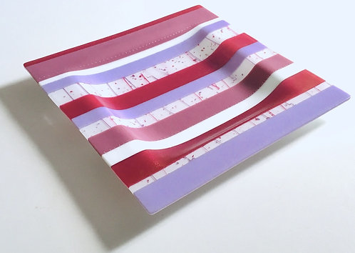 'Candy Stripes' Square Platter