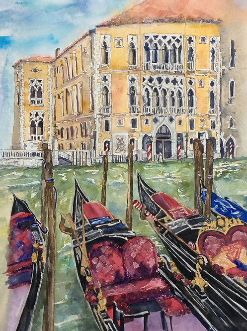 Palazzo Franchetti Cavalli Venice by Lindsey Pearson