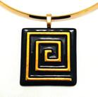 Necklace - Gold Key