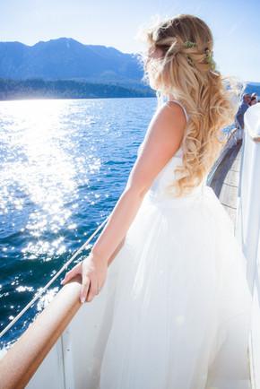 Bride on the Bleu Wave