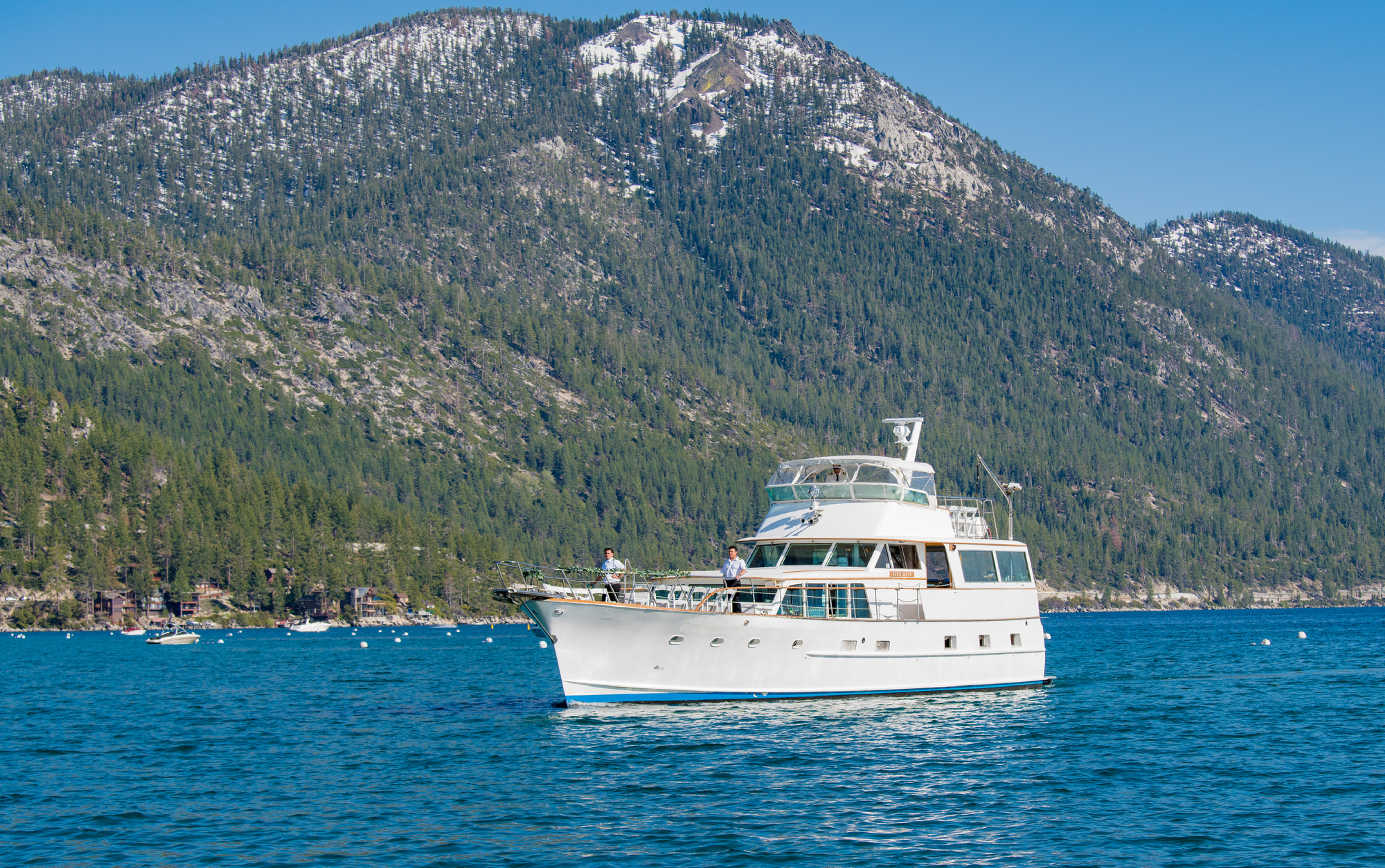 Boat Cruises Lake Tahoe Bleu Wave United States