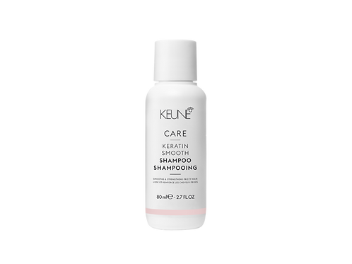 CARE KERATIN SMOOTH SHAMPOO TRAVEL SIZE- 2.7 FL OZ.