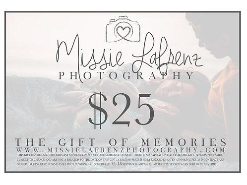 $25 gift
