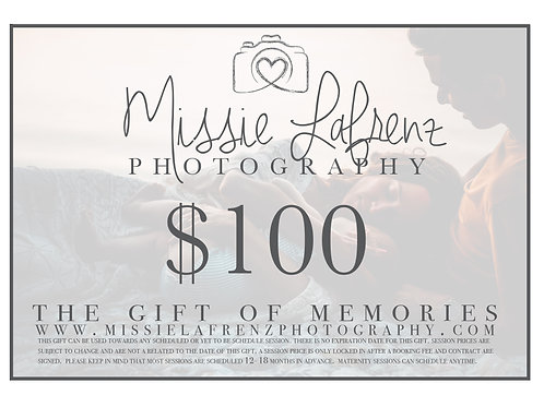 $100 Gift