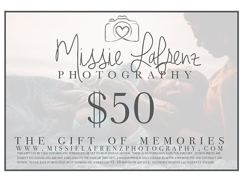 $50 Gift