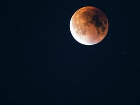 皆既月食の夜にプレゼント