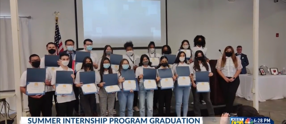Boys & Girls Clubs of Kern County celebrates students who completed summer internship program
