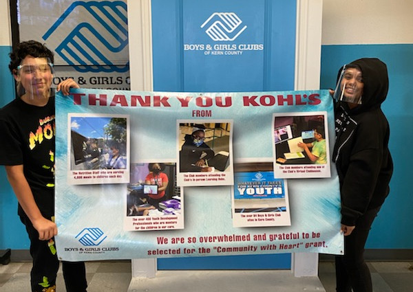 Boys & Girls Clubs of Kern County gets $100K grant from Kohl's as part of A Community with Heart program