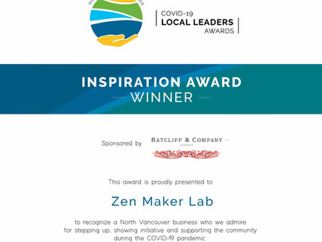 North Vancouver Chamber of Commerce Inspiration Award