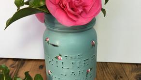 Upcycling all those glass jars!