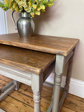 Upcycled nested tables