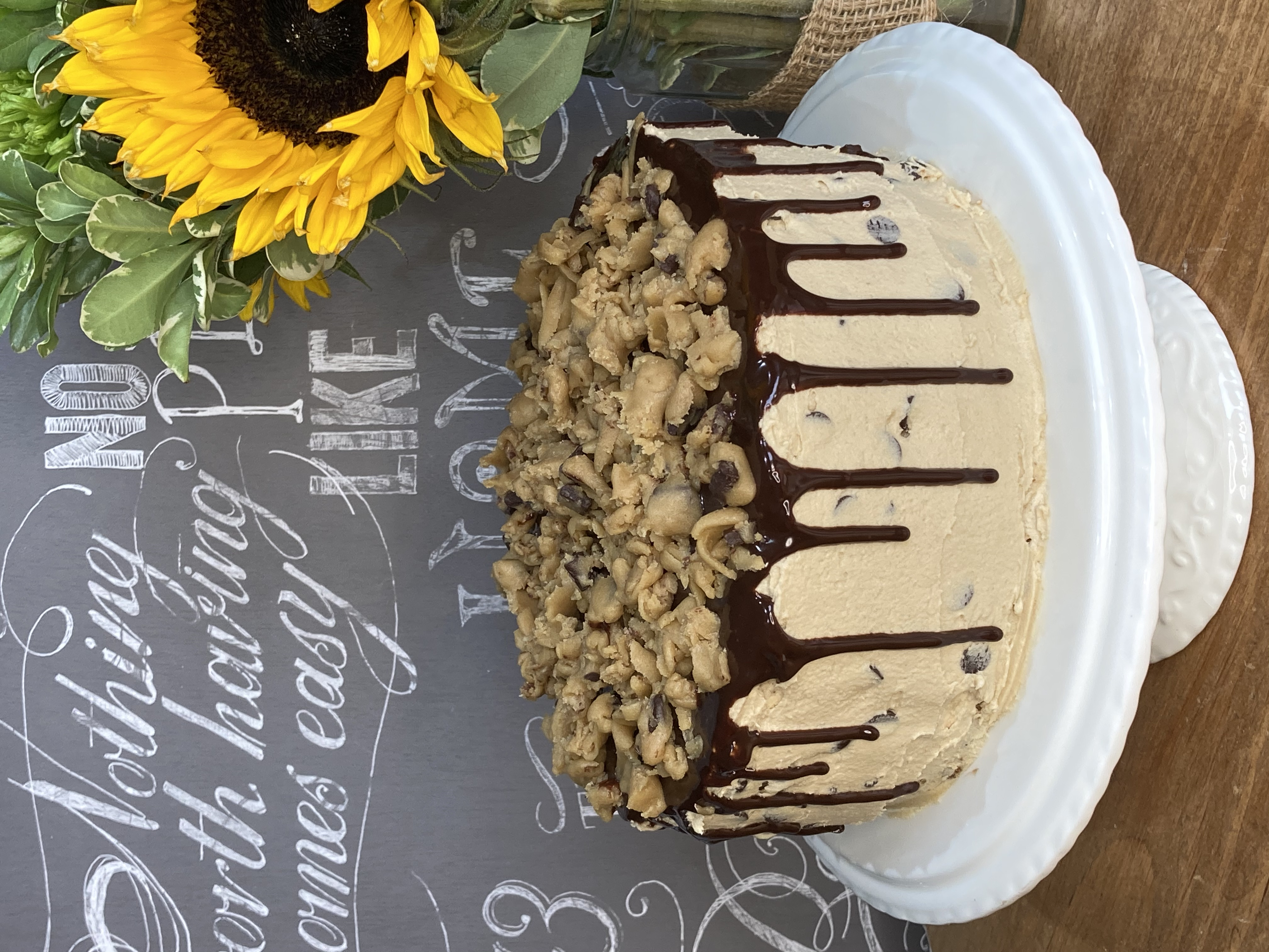 Cookie Dough Birthday Cake