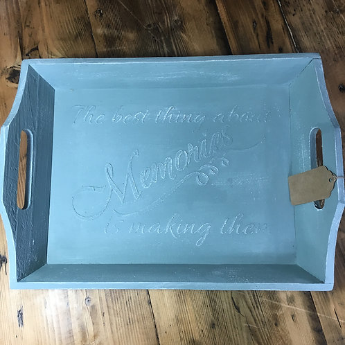 Hand Painted Tray - Large
