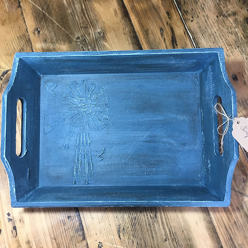 Hand painted tray - Medium