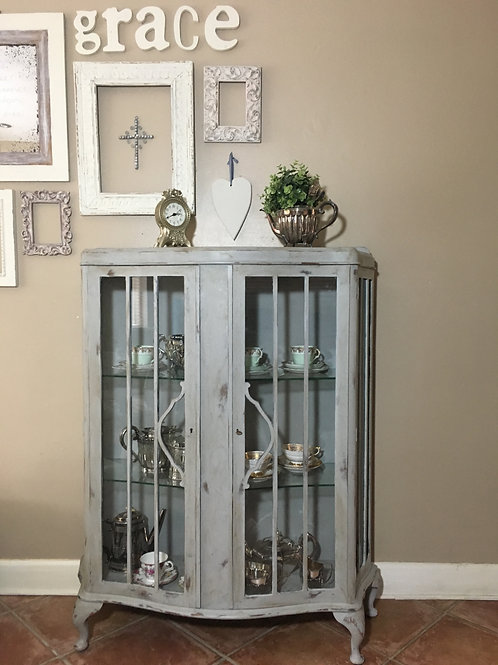 Upcycled Display Cabinet