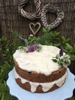 Blueberry & Courgette Cake