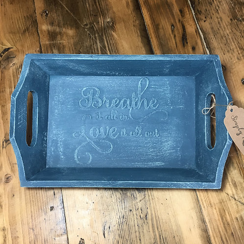 Hand painted tray - Small