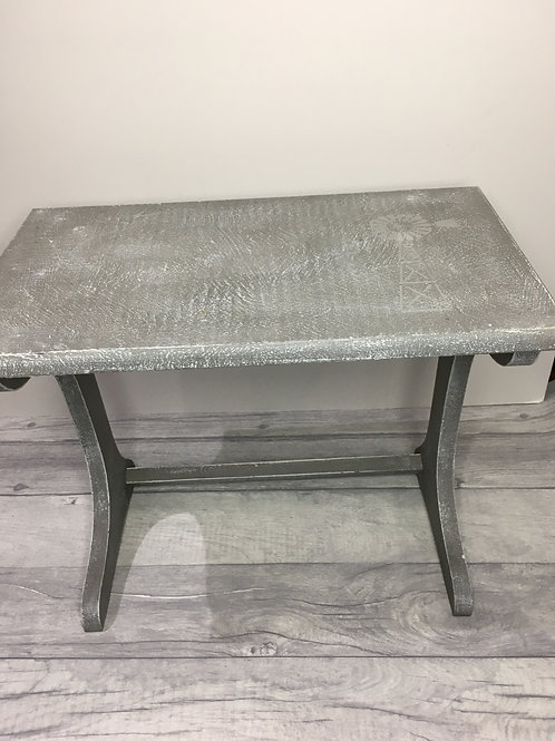 Small Upcycled Side Table