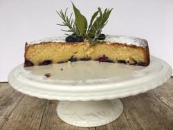 Blueberry & Almond Cake