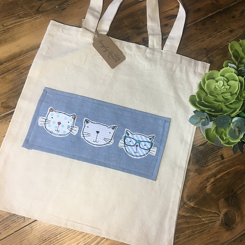 The cat's whiskerTote Bag